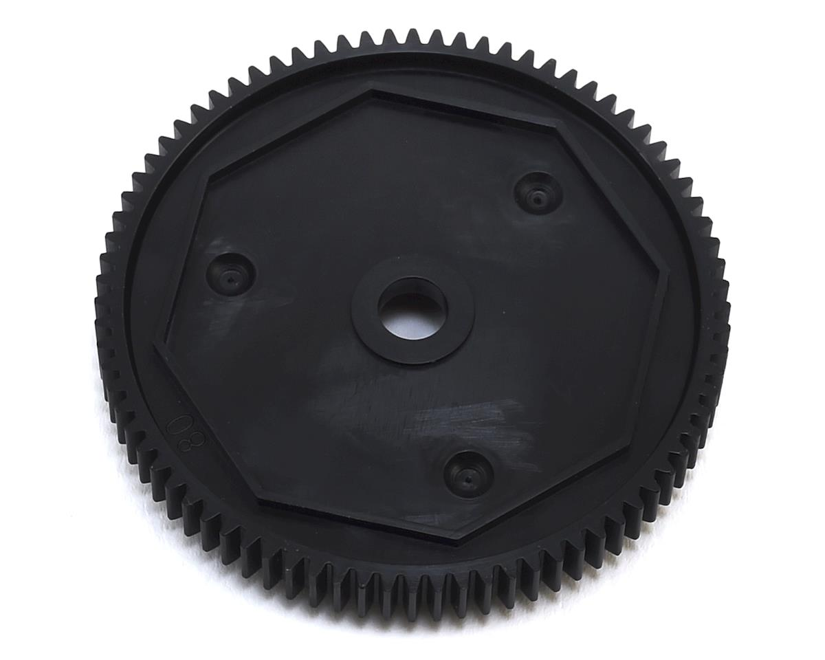 YZ-4 SF 48P Dual Pad Slipper Spur Gear (80T) by Yokomo