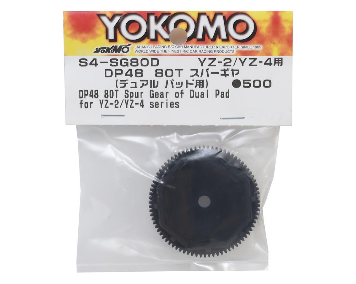 Image 2 for Yokomo YZ-4 SF 48P Dual Pad Slipper Spur Gear (80T)