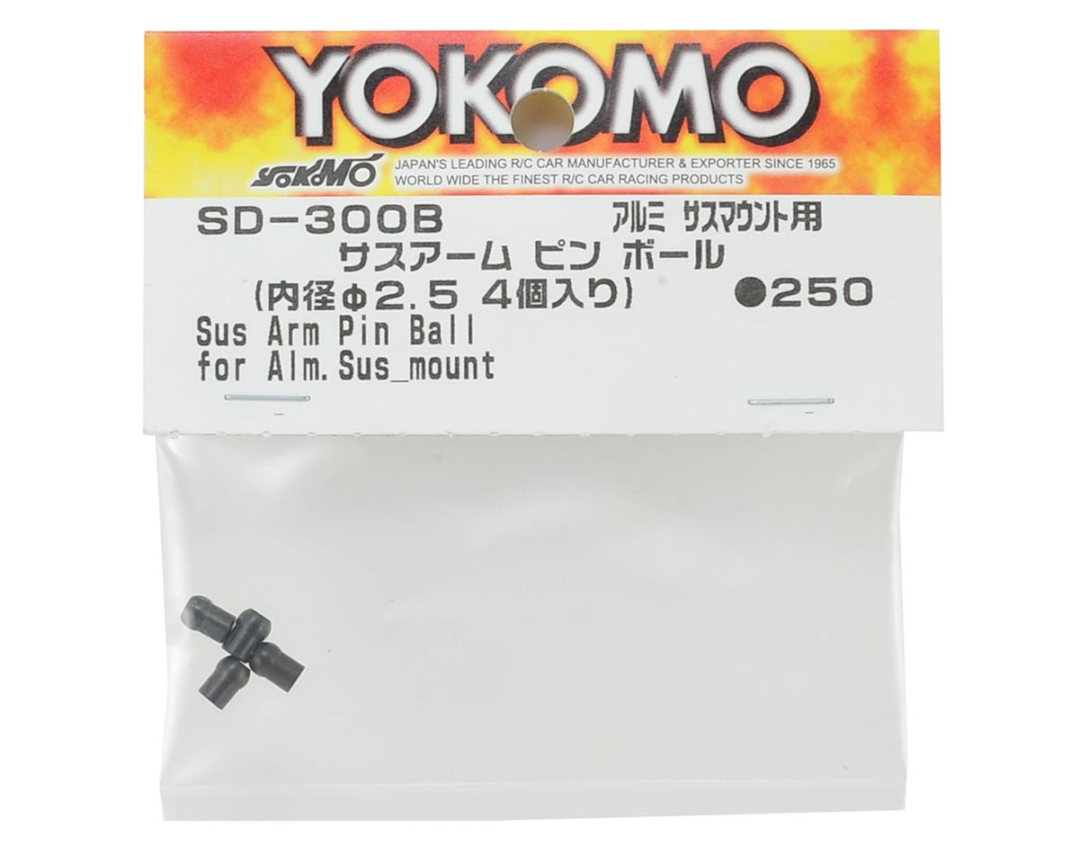 Yokomo Suspension Arm Pin Ball (4) (for Aluminum Suspension Mount)