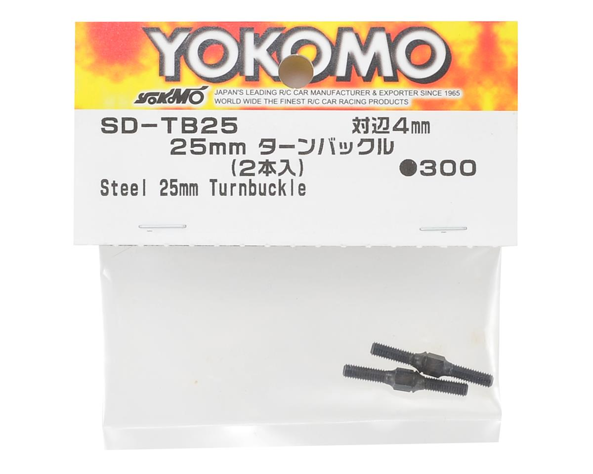 Yokomo 25mm Steel Turnbuckle (2)