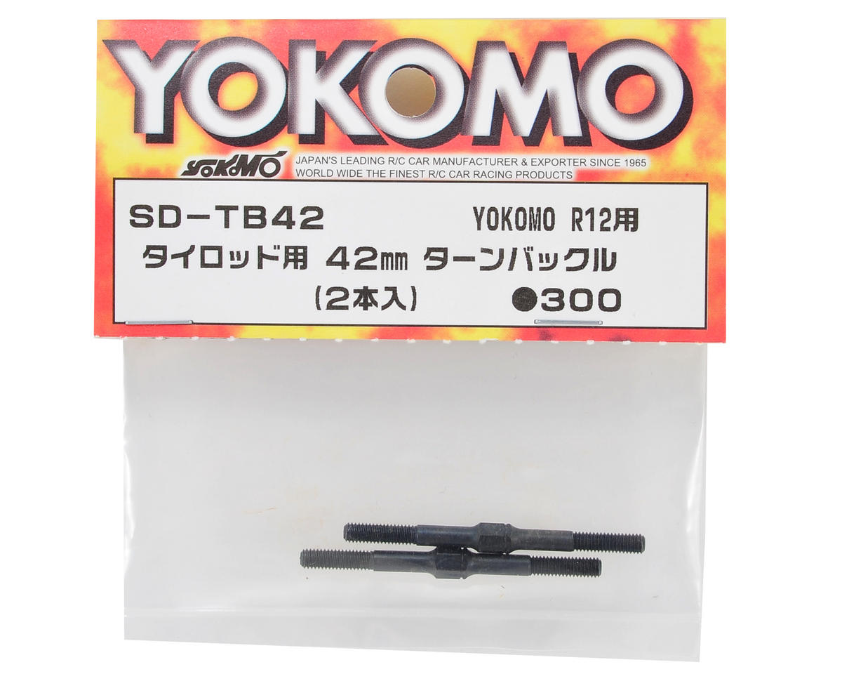R12W 42mm Turnbuckle (2) by Yokomo