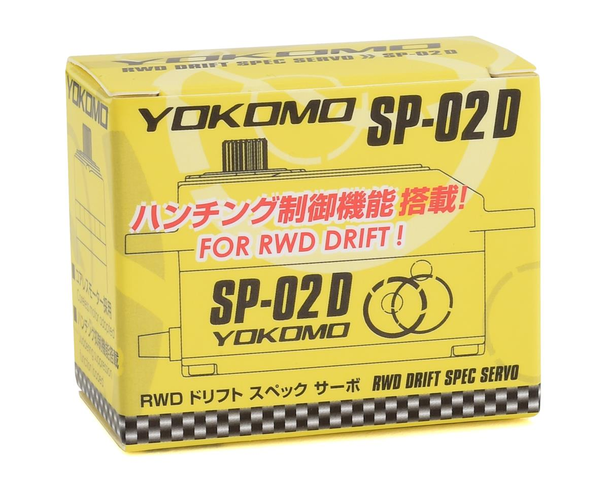 Image 2 for Yokomo SP-02D RWD Digital Low Profile Drift Servo