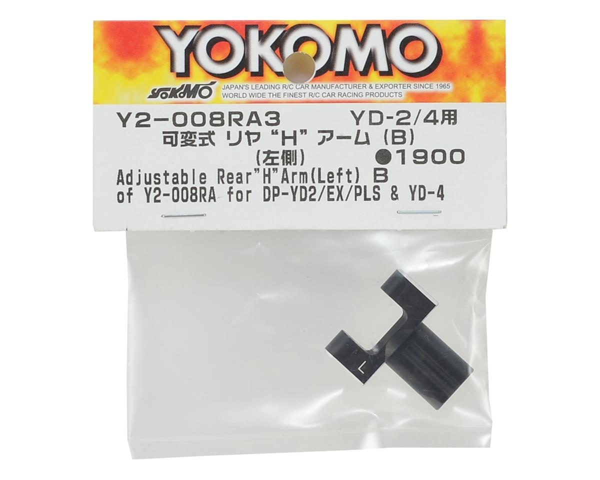 Yokomo Adjustable Rear H Arm B (Left)