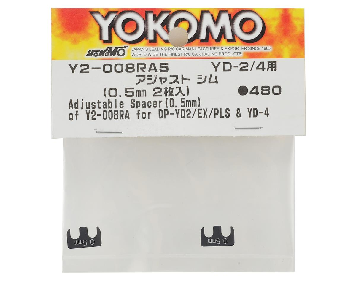 Yokomo 0.5mm Adjustable Rear H Arm Shim (2)