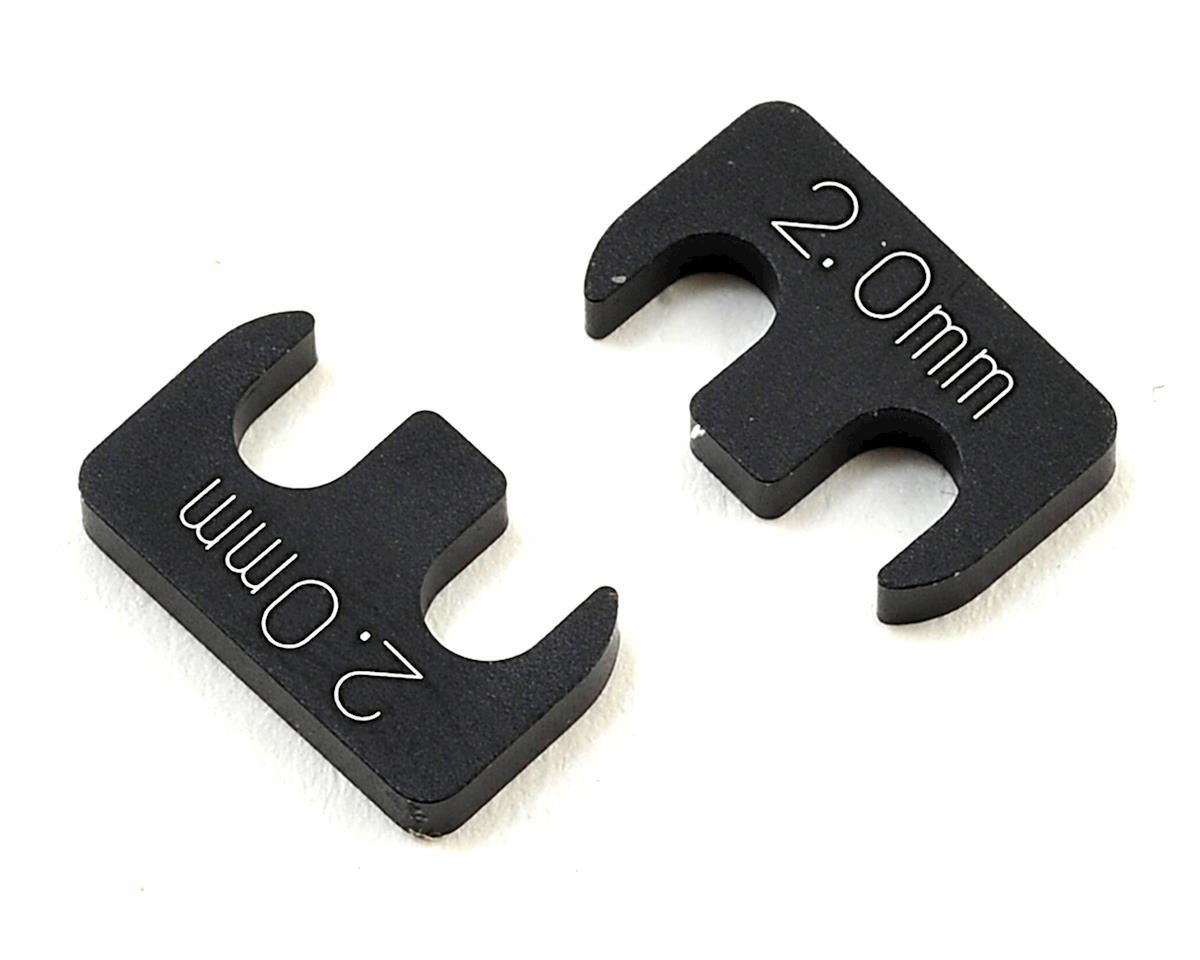 Yokomo YD-2 2.0mm Adjustable Rear H Arm Shim (2)