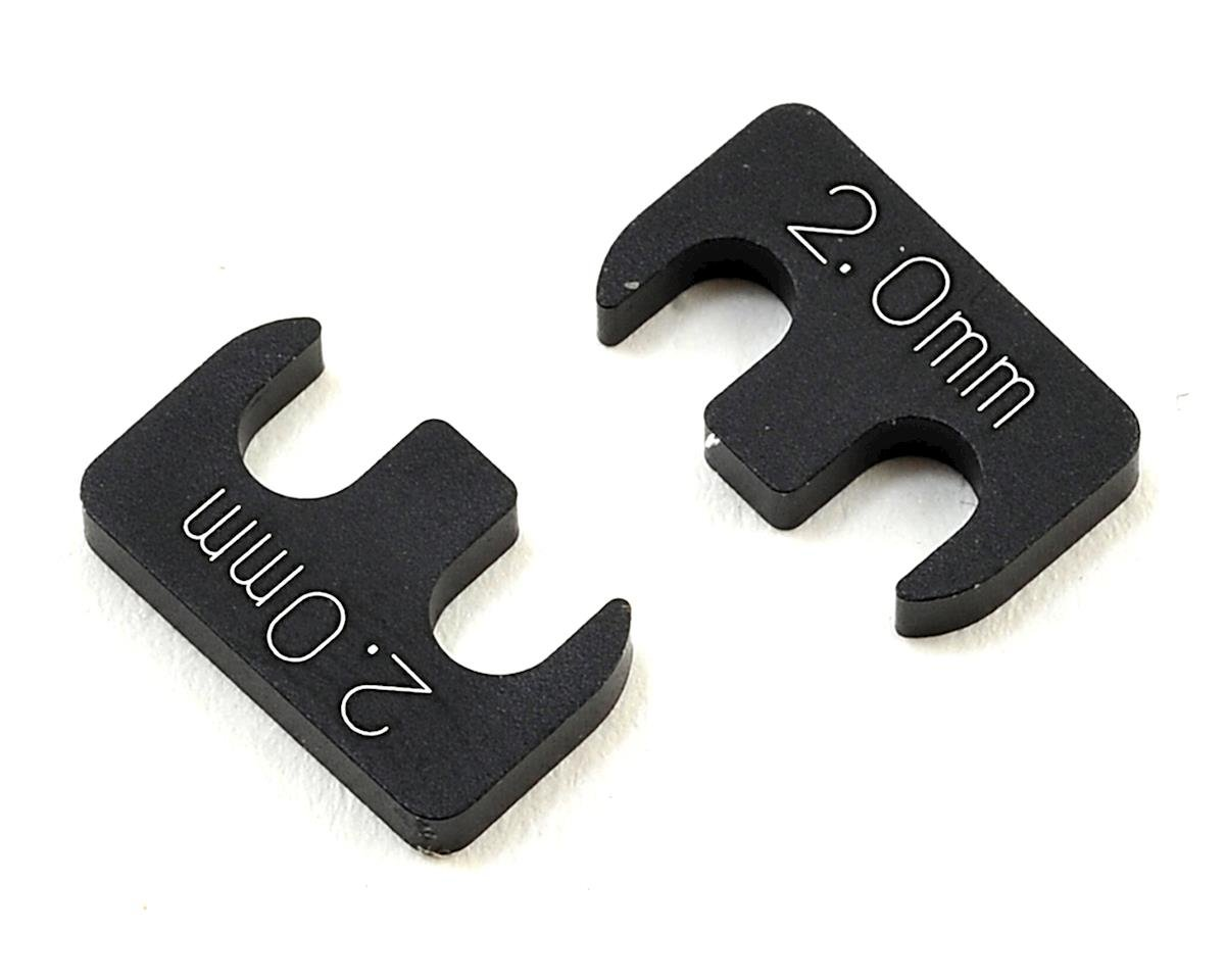 Yokomo 2.0mm Adjustable Rear H Arm Shim (2)