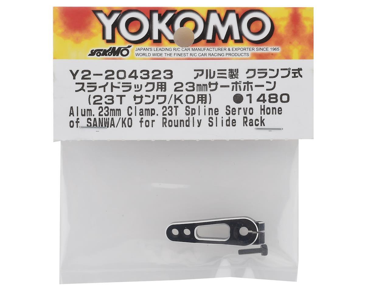 Yokomo Aluminum Servo Horn (23T-Airtonics/Sanwa/KO) (23mm)