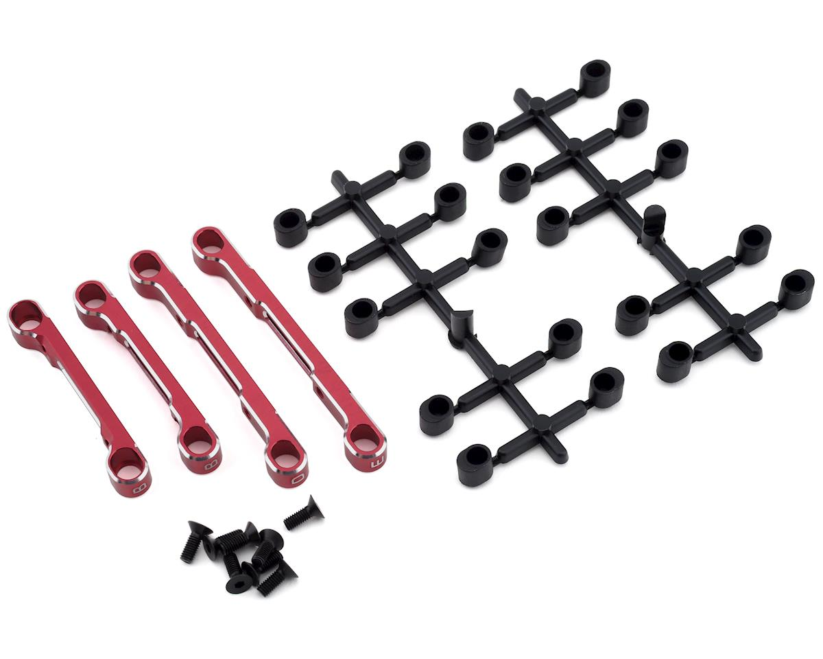 Yokomo YD-2 Adjustable Suspension Mount Set (Red)