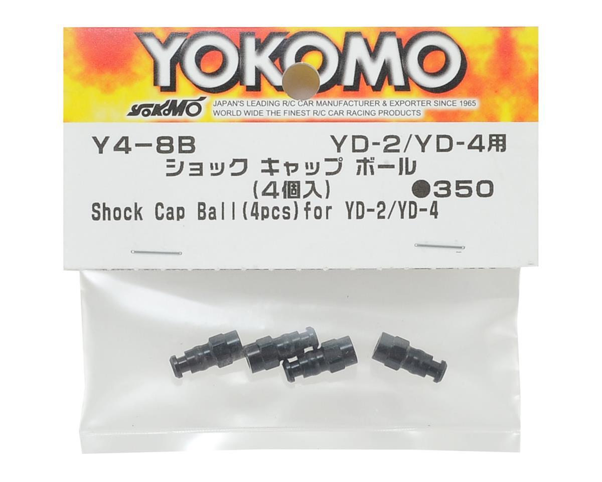 Yokomo Aluminum Shock Cap Ball (4)