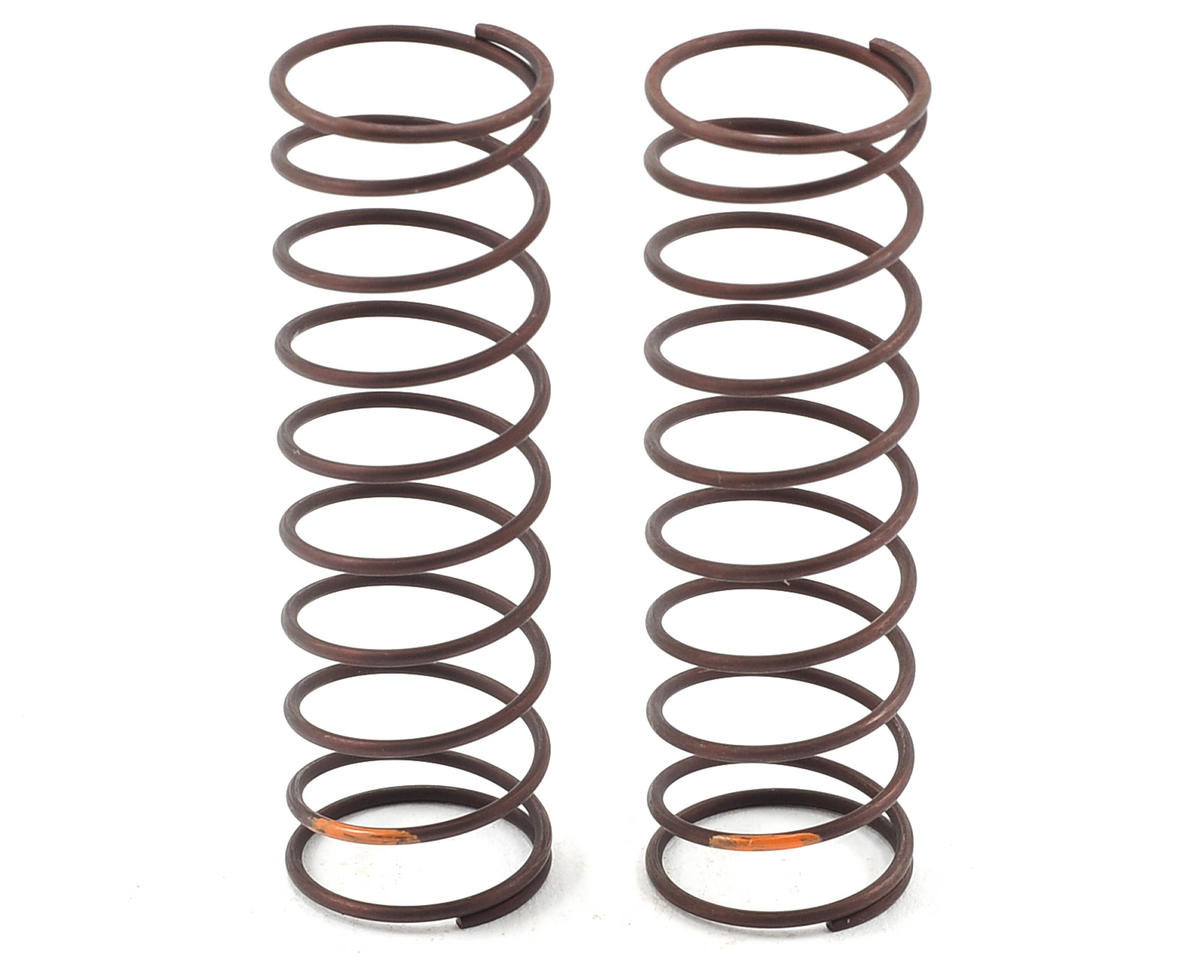 Yatabe Arena Rear Shock Spring Set (Orange) (Turf/Carpet) by Yokomo