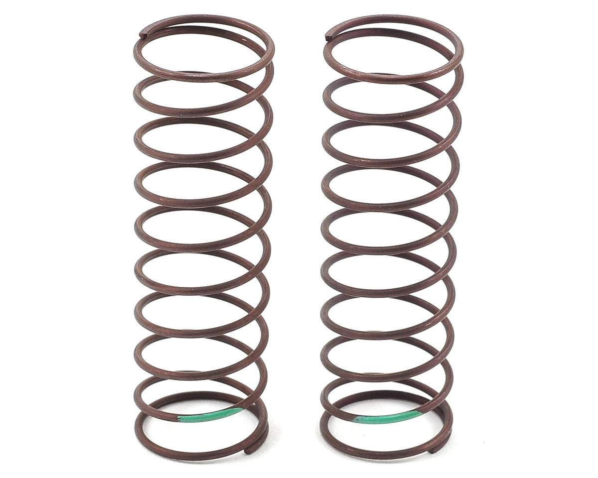 Yatabe Arena Rear Shock Spring Set (Green) (Turf/Carpet) by Yokomo B-MAX4 III