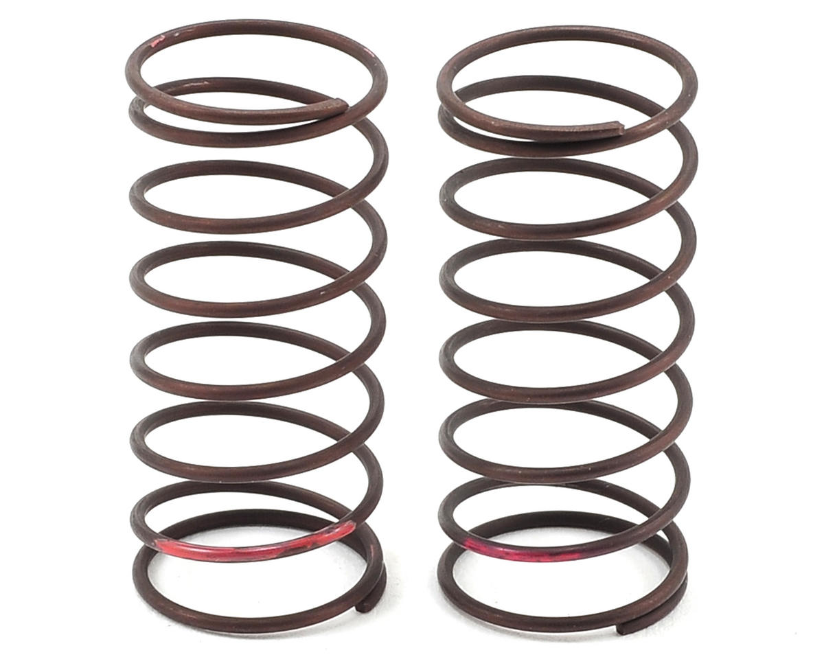 Yokomo B-MAX2 MR V3 Yatabe Arena Front Shock Spring Set (Red) (Turf/Carpet)