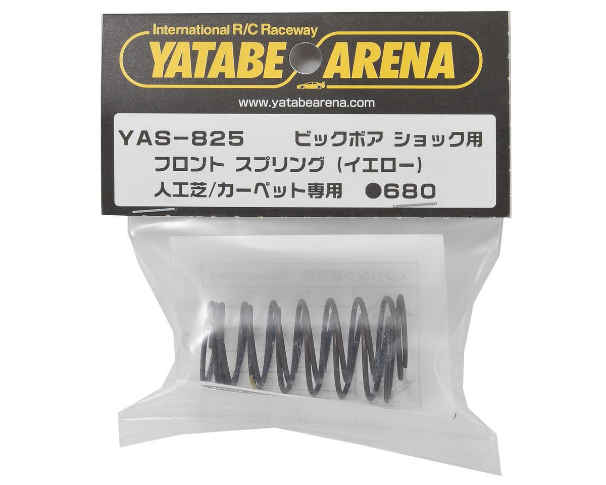 Yatabe Arena Front Shock Spring Set (Yellow) (Turf/Carpet) by Yokomo
