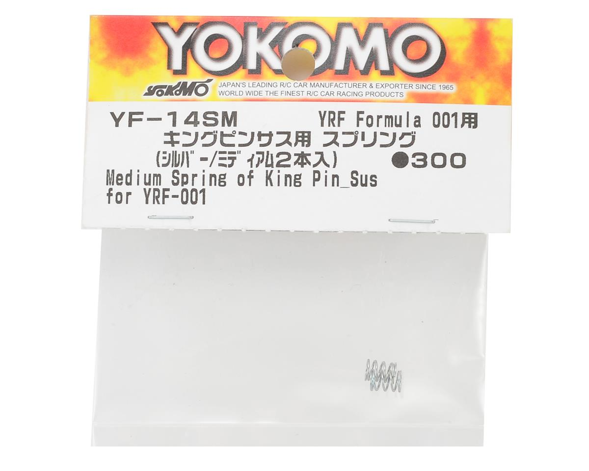 Yokomo YR-10 Front King Pin Spring (2) (Silver - Medium)