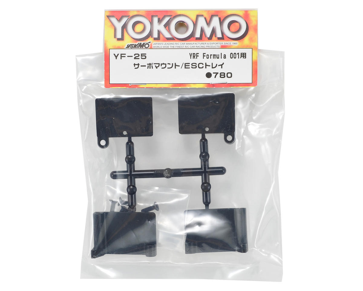 Yokomo Servo Mount/ESC Tray Set