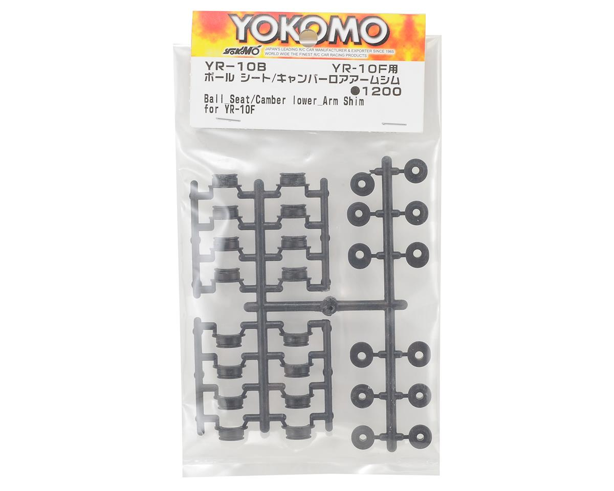 Yokomo YR10 Ball Seat/Lower Arm Camber Shim Set