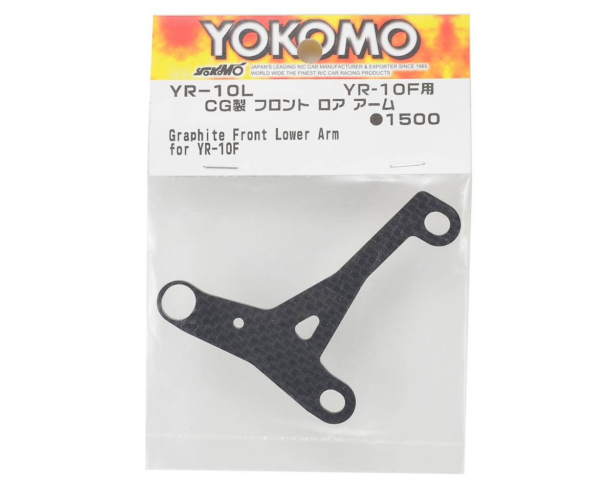 Yokomo YR10 Graphite Front Lower Arm