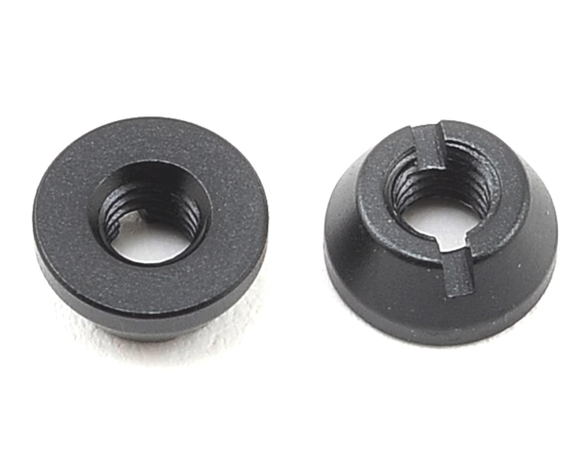 Aluminum M3 Round Nut (2) by Yokomo