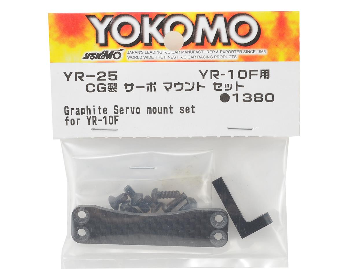 Yokomo YR-10 Graphite Servo Mount Set