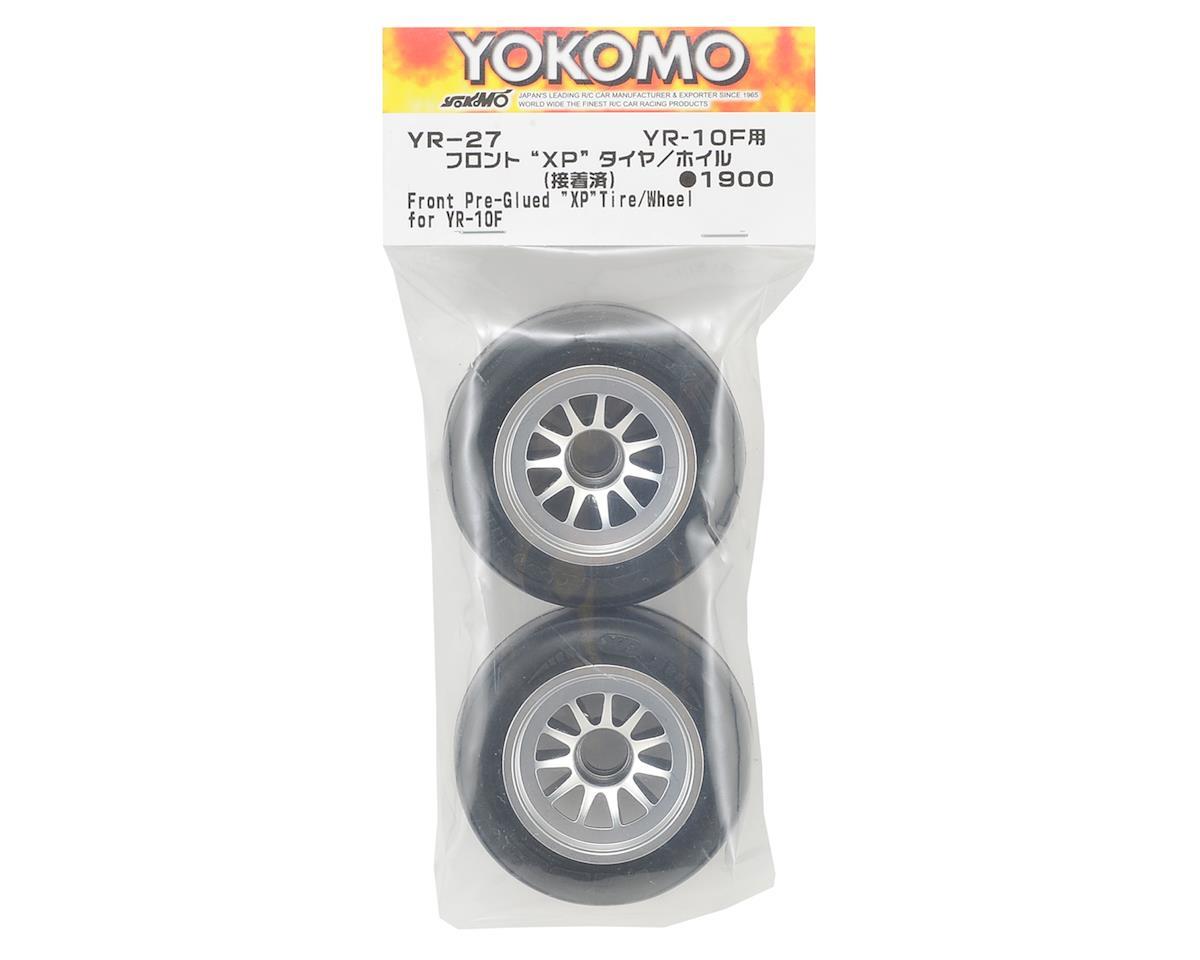 Yokomo YR10 Pre-Glued Front XP Ride Tire (2)