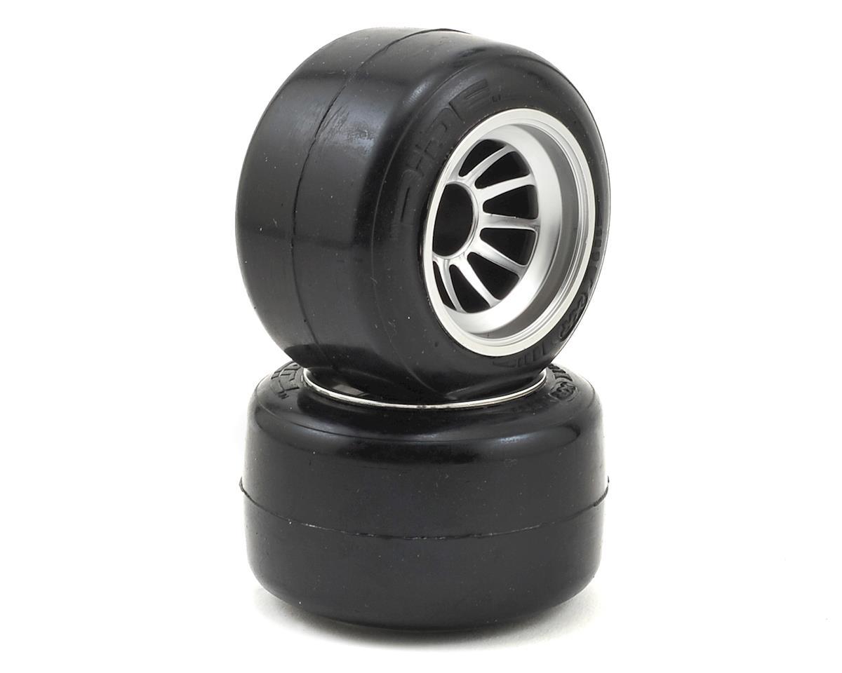 Yokomo YR10 Pre-Glued Rear XP Ride Tire (2)