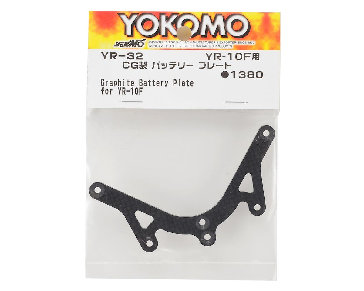 Yokomo YR10 Graphite Battery Plate