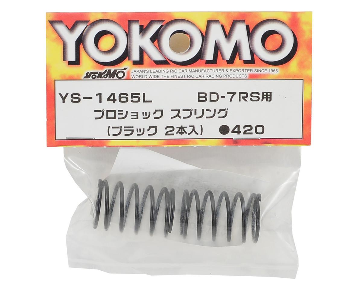 Yokomo Pro Shock Spring (Black) (2) (RS)