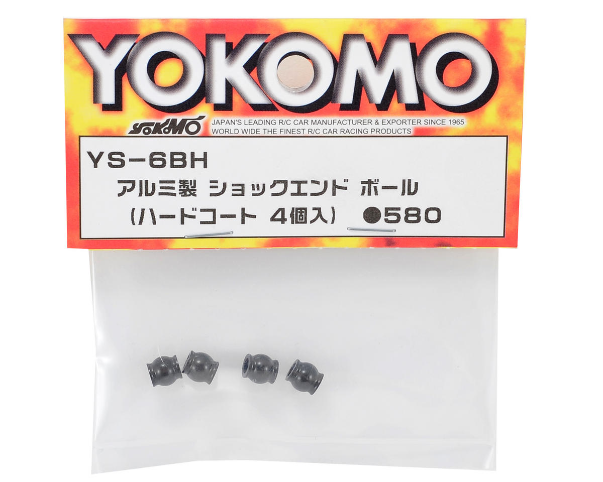 Yokomo Aluminum Hard Coated Shock End Ball (4)