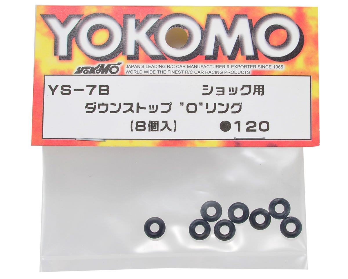 Yokomo Down Stop O-Ring (8)