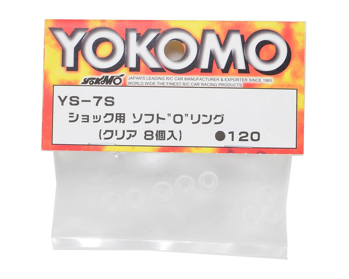 Yokomo Shock O-Ring Set (Soft) (8)