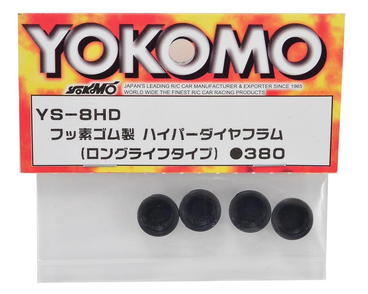 Yokomo Fluorine Rubber Hyper Diaphragm Set (4)