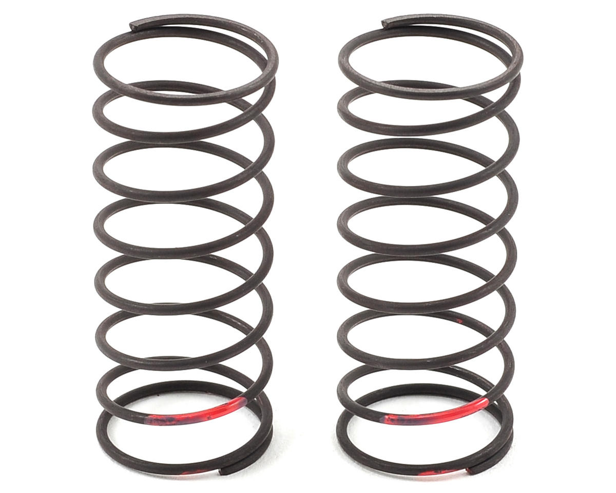 Yokomo B-MAX2 MR V3 Big Bore Front Shock Spring Set (Red)