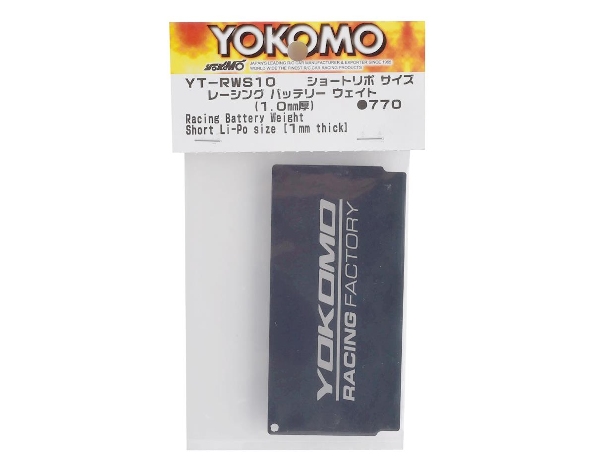 Yokomo Shorty Size Battery Chassis Weight (34g)