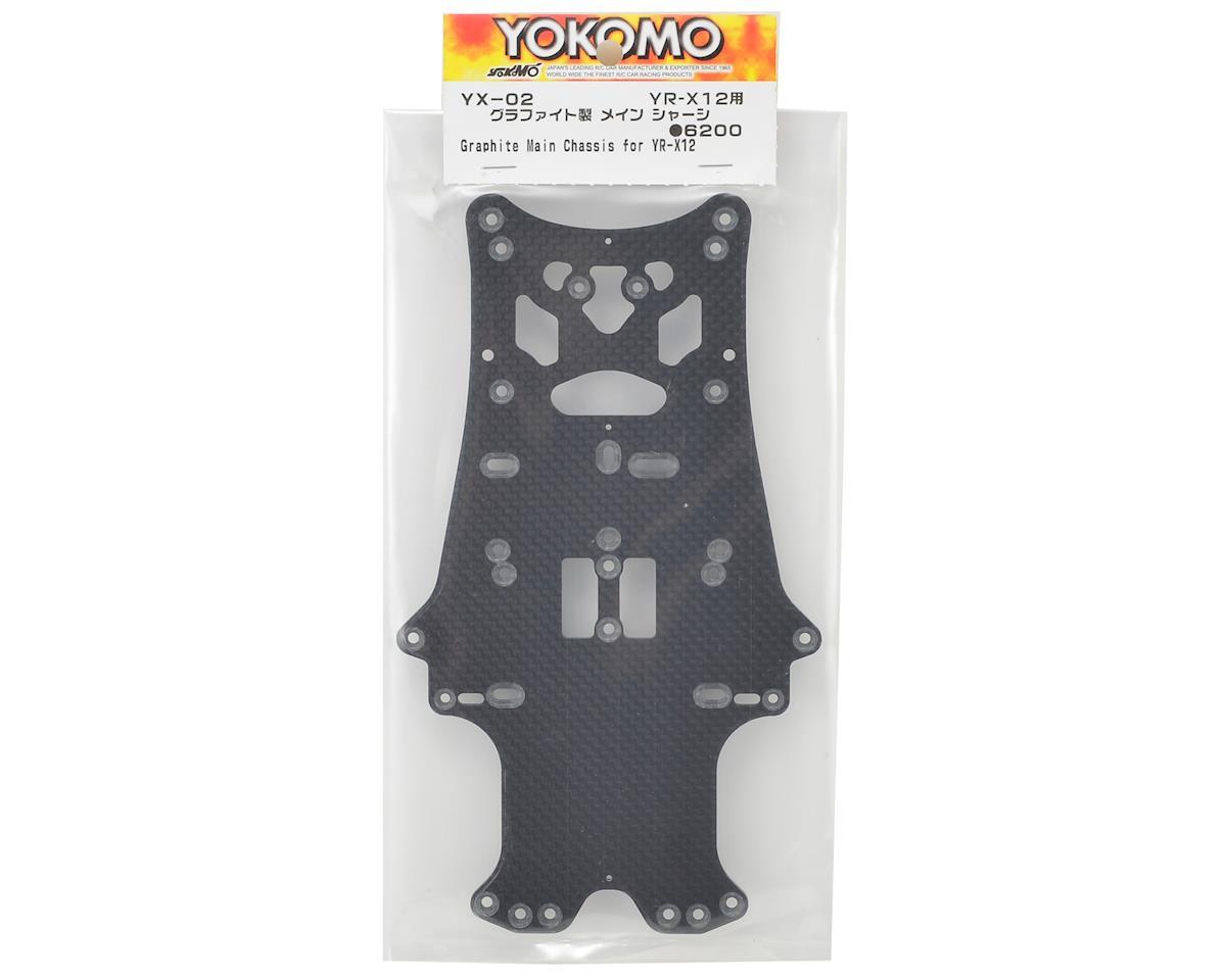 Yokomo YR-X12 Graphite Main Chassis