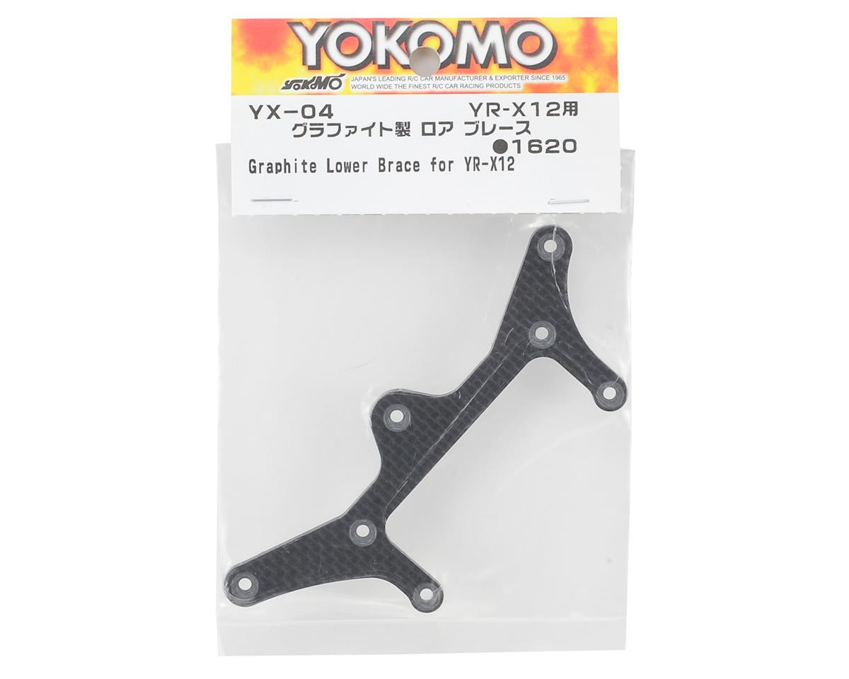 YR-X12 Carbon Fiber Lower Brace by Yokomo