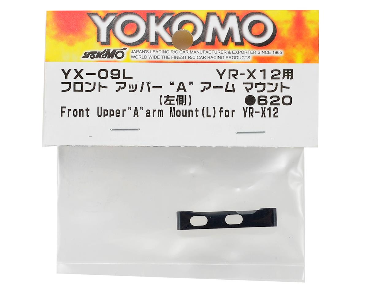 Yokomo YR-X12 Aluminum Front Upper Arm Mount (Left)