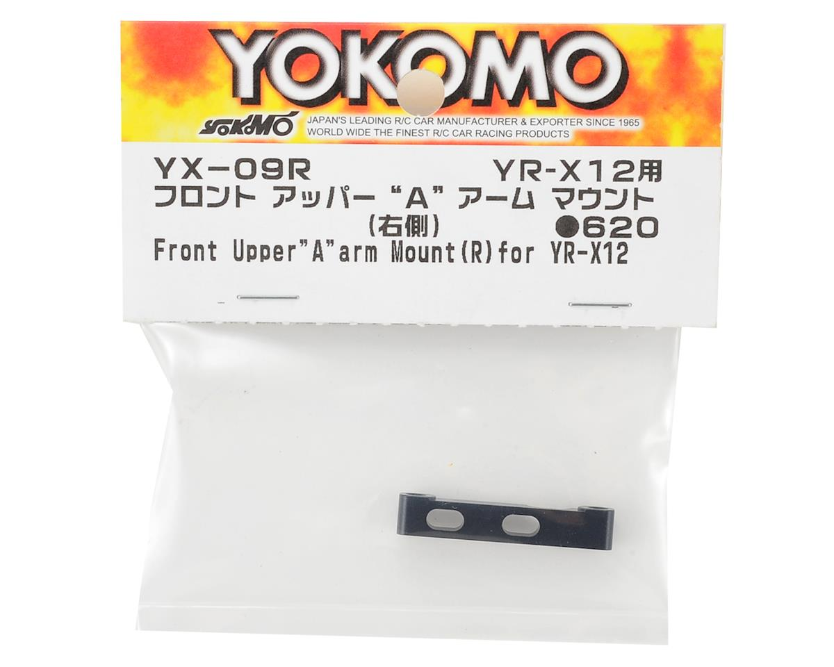 Yokomo YR-X12 Aluminum Front Upper Arm Mount (Right)