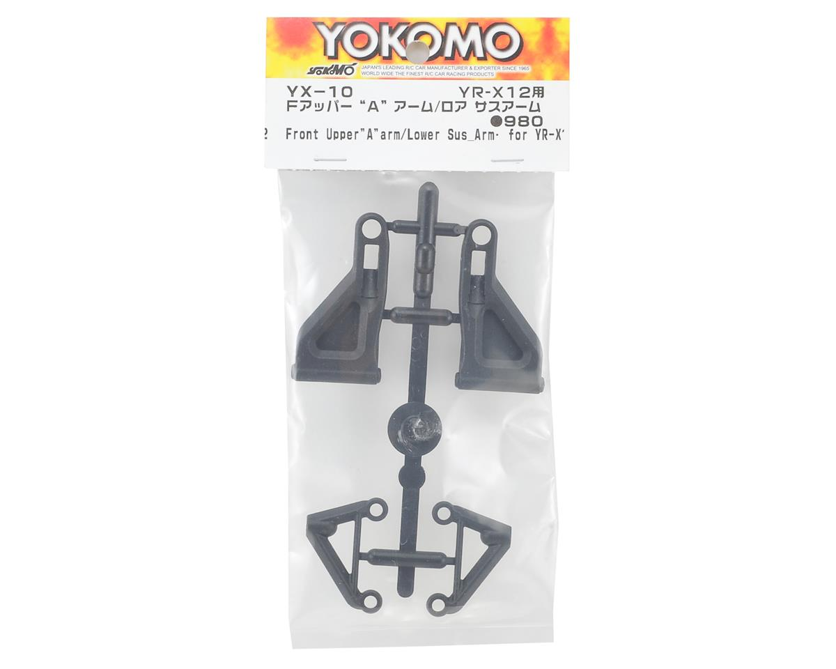Yokomo YR-X12 Front Upper & Lower Suspension Arm Set