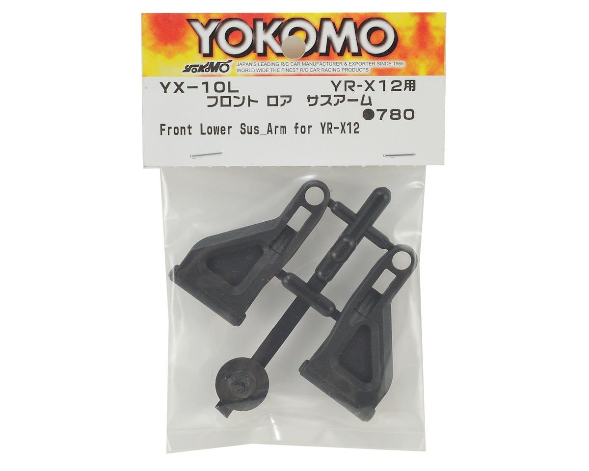 Yokomo YR-X12 Front Lower Suspension Arm Set