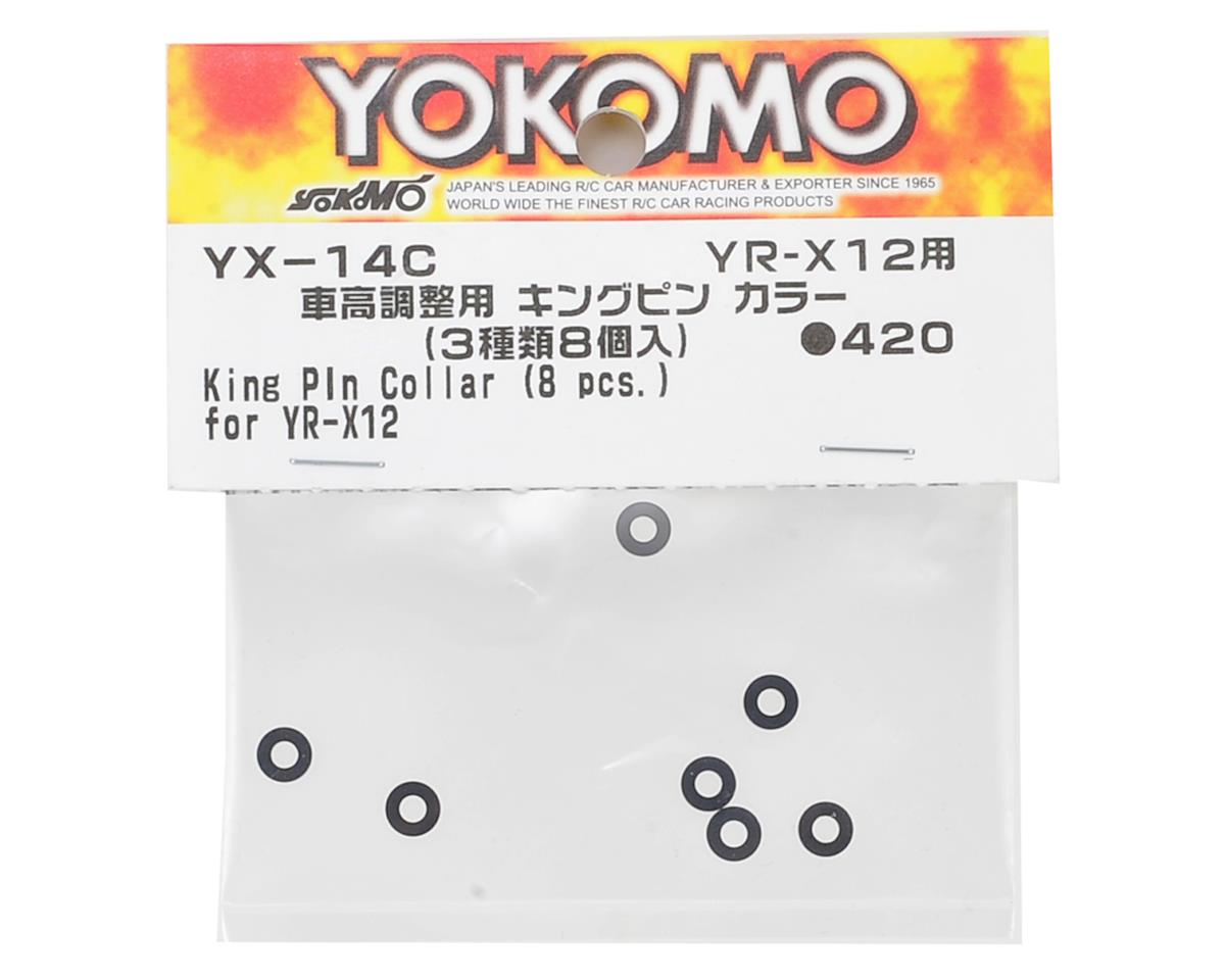 Yokomo YR-X12 King Pin Collar Set (8)