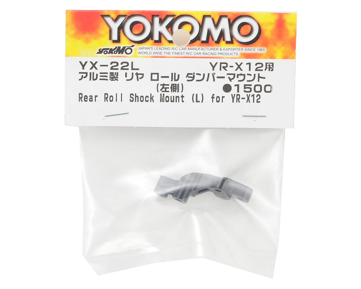 Yokomo YR-X12 Aluminum Rear Roll Damper Mount (Left)