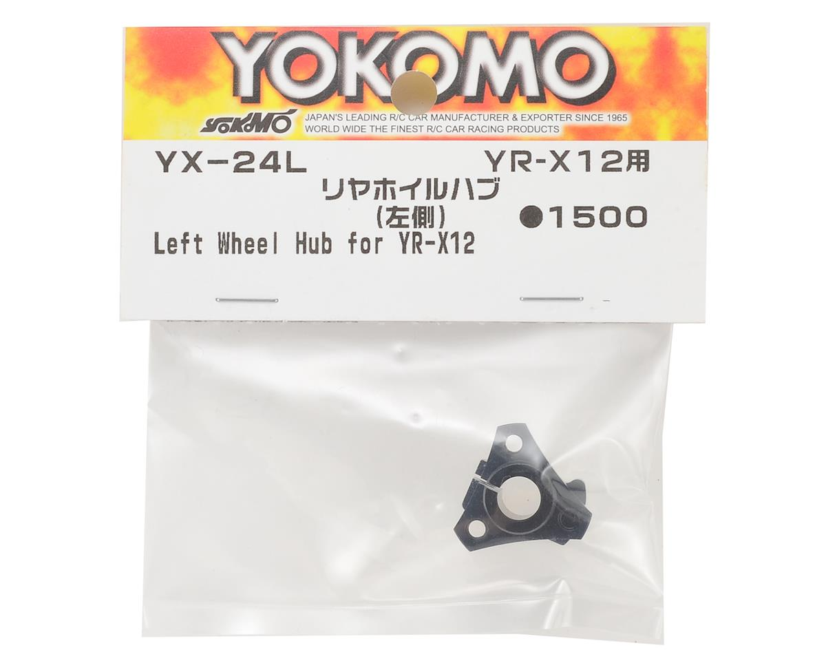 Yokomo YR-X12 Aluminum Rear Wheel Hub (Left)