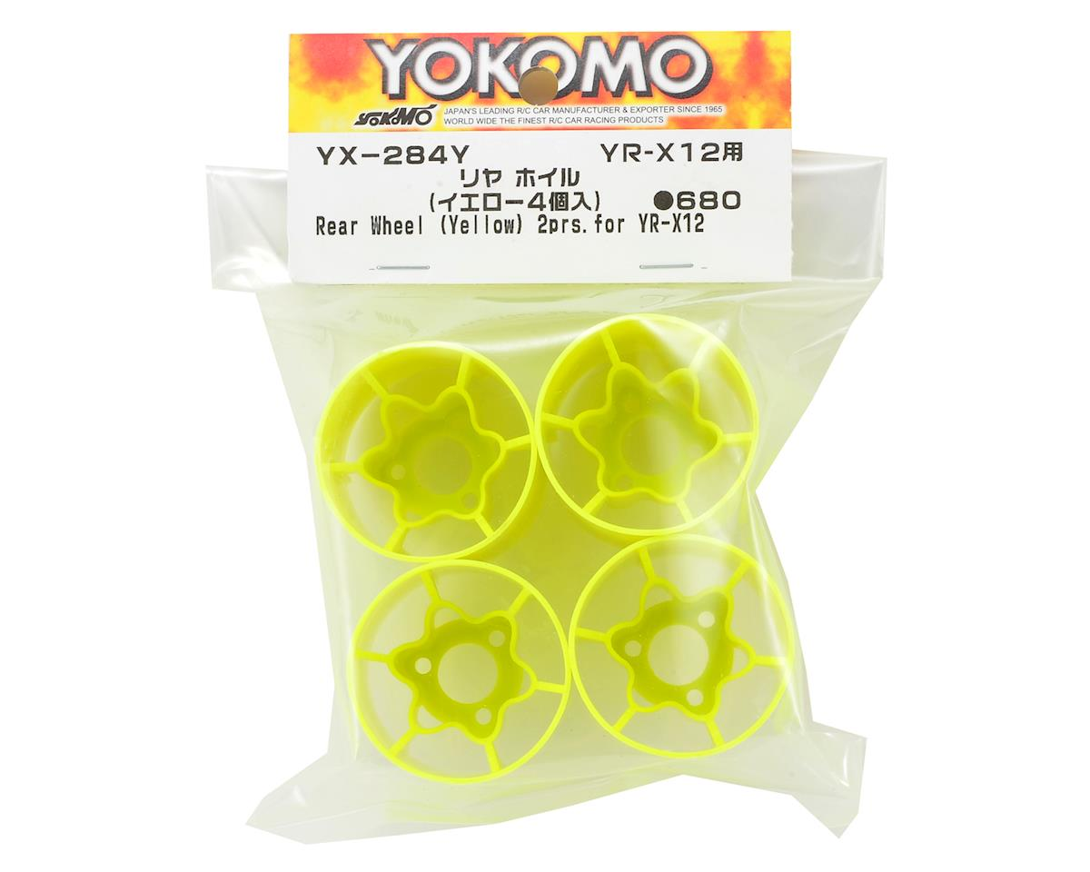 Yokomo YR-X12 Rear Wheel (Yellow)