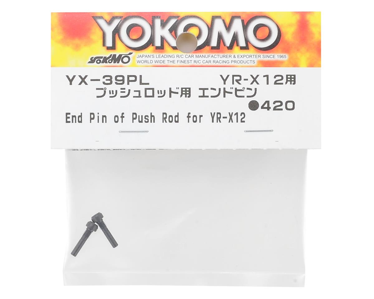 Yokomo YR-X12 Push Rod End Pin (2)