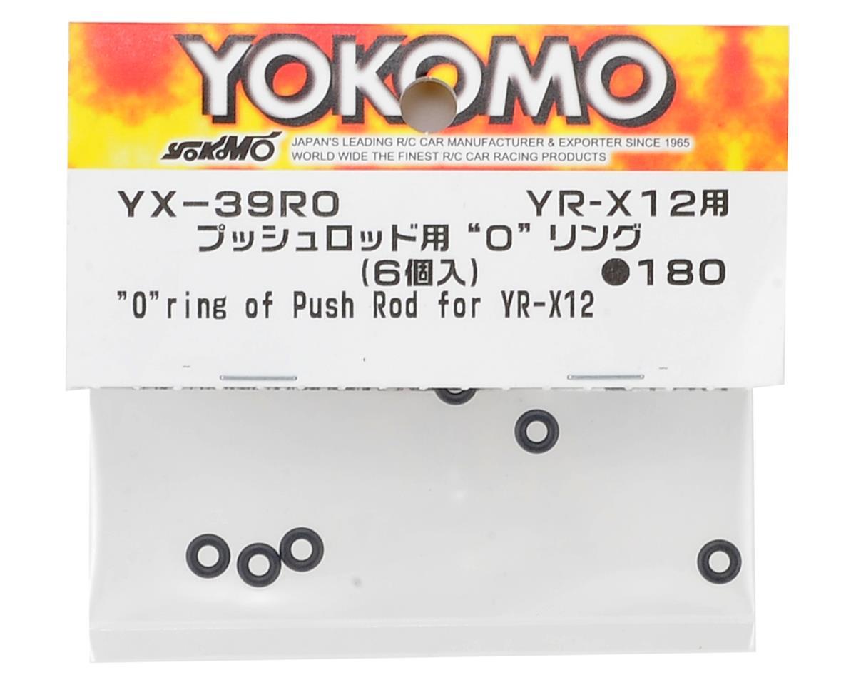 YR-X12 Push Rod O-Ring (6) by Yokomo