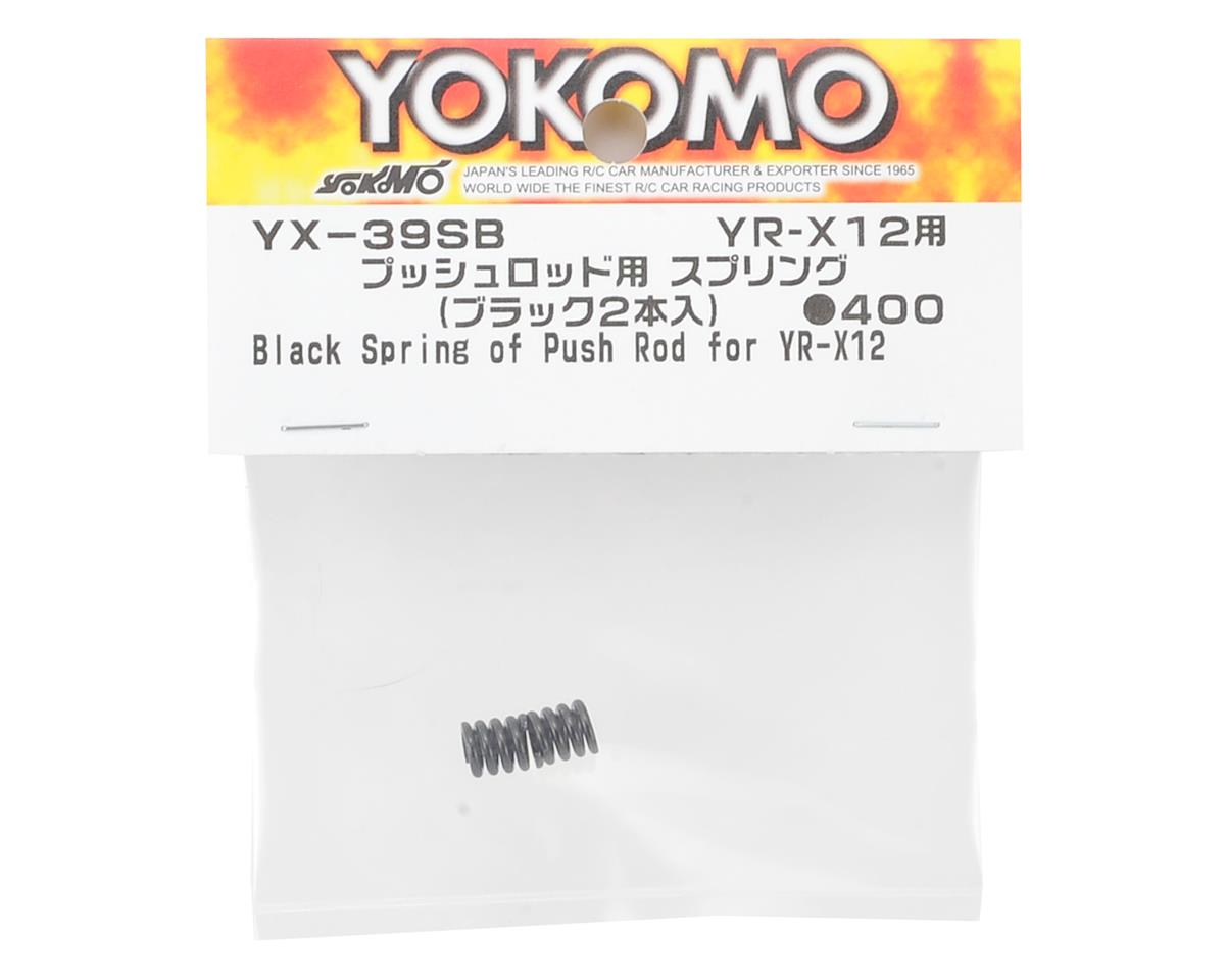 YR-X12 Push Rod Spring (Black) by Yokomo