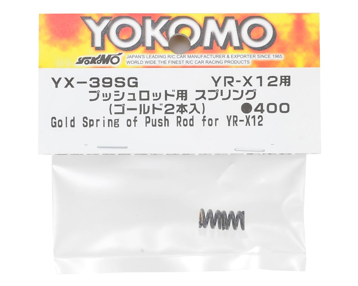 Yokomo YR-X12 Push Rod Spring (Gold)