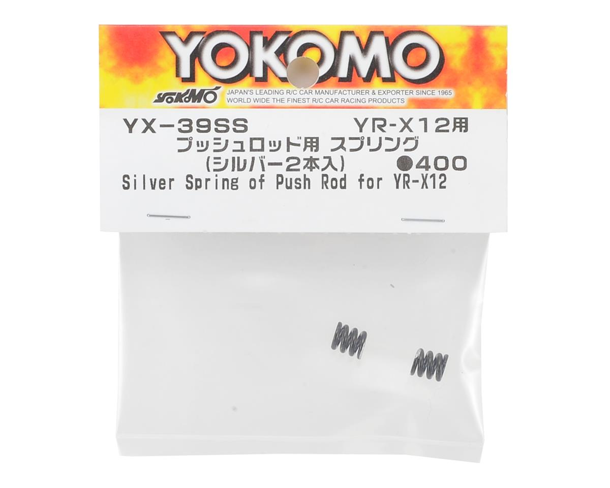 Yokomo YR-X12 Push Rod Spring (Silver)