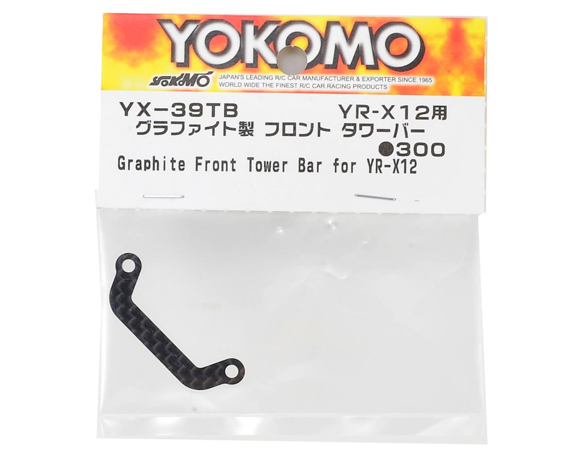 Yokomo YR-X12 Carbon Fiber Front Tower Bar