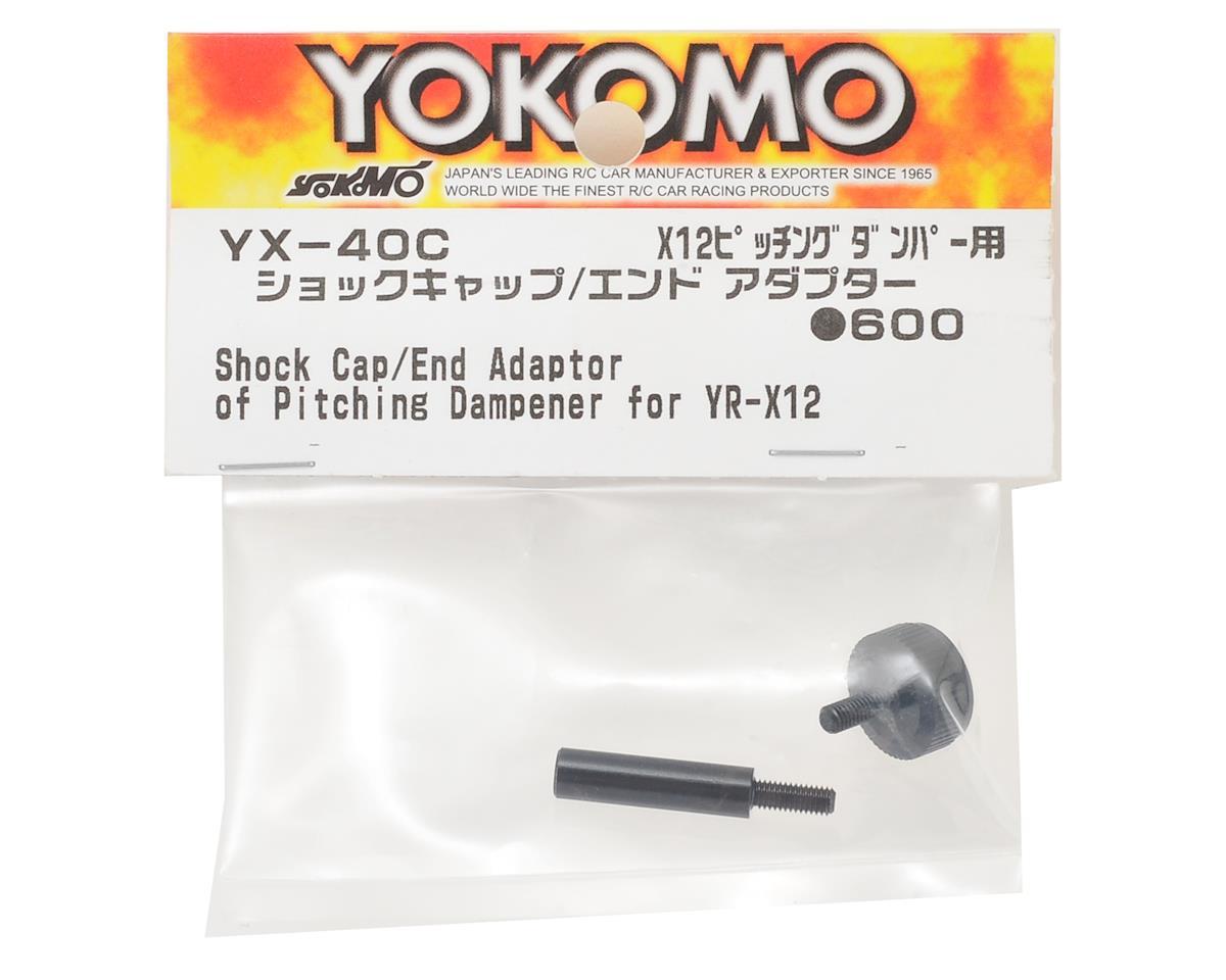 Yokomo YR-X12 Pitching Damper Shock Cap & End Adapter